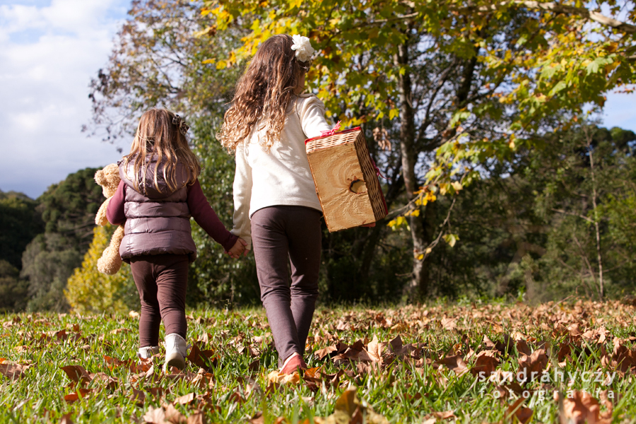 Ensaio de família no outono